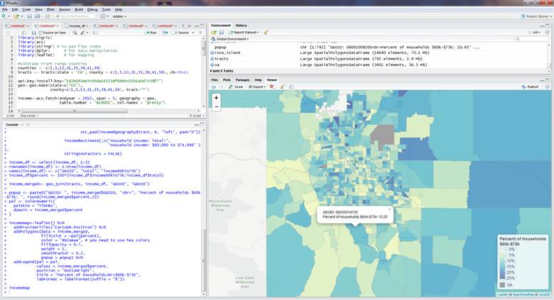 The R Project for Maps | Maps for the Web